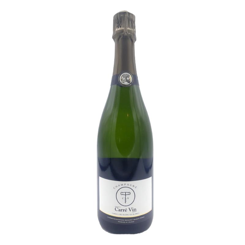 Champagne Balnc de Blancs - Carré Vin
