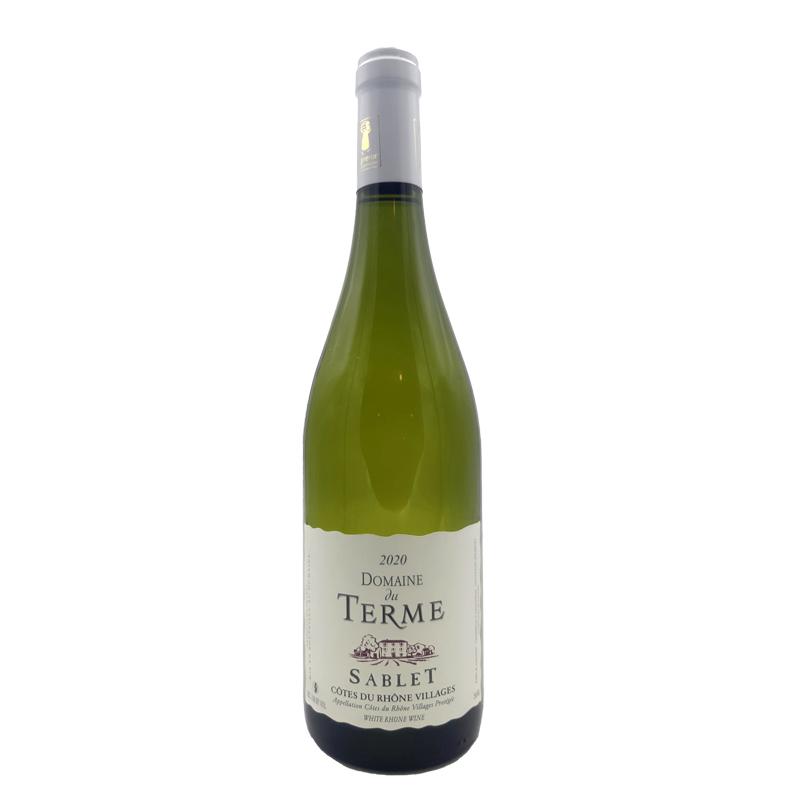 Vin blanc Domaine du Terme - AOP Sablet