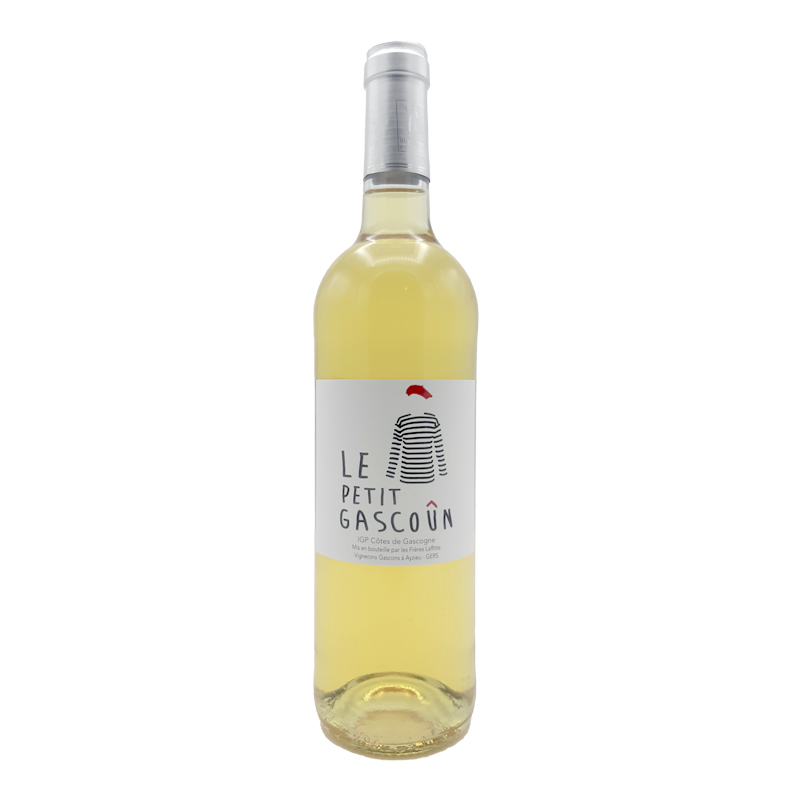 Vin Blanc IGP Cotes de Gascogne - Domaine Laffitte - Petit Gascoun