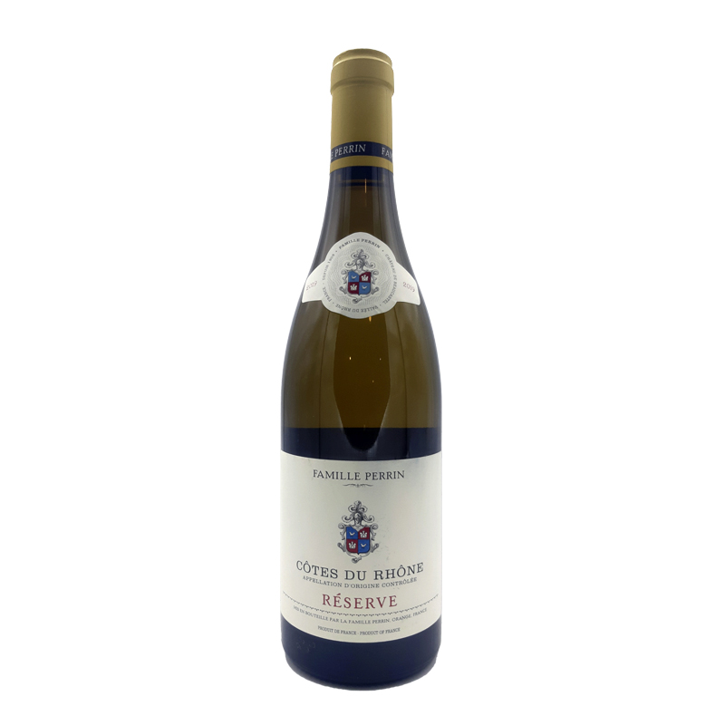 vin blanc Côtes du Rhône - Famille Perrin - Réserve