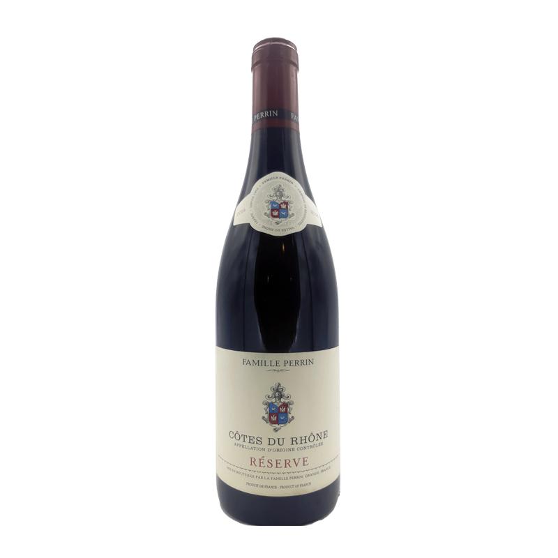 vin rouge Côtes du Rhône - Famille Perrin - Réserve