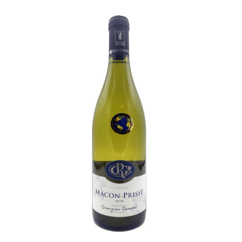 Vin blanc Macon Prissé