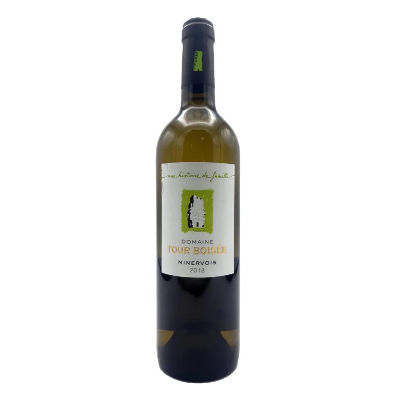 Vin blanc Minervois BIO - Château de la Tour Boisé