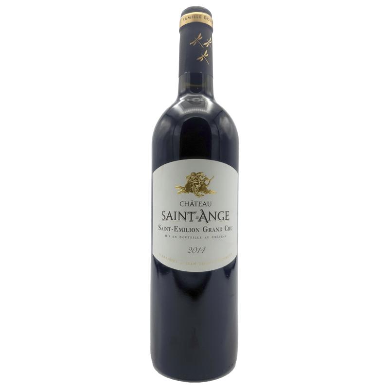 Vin rouge Saint Emilion Grand Cru - Château St Ange